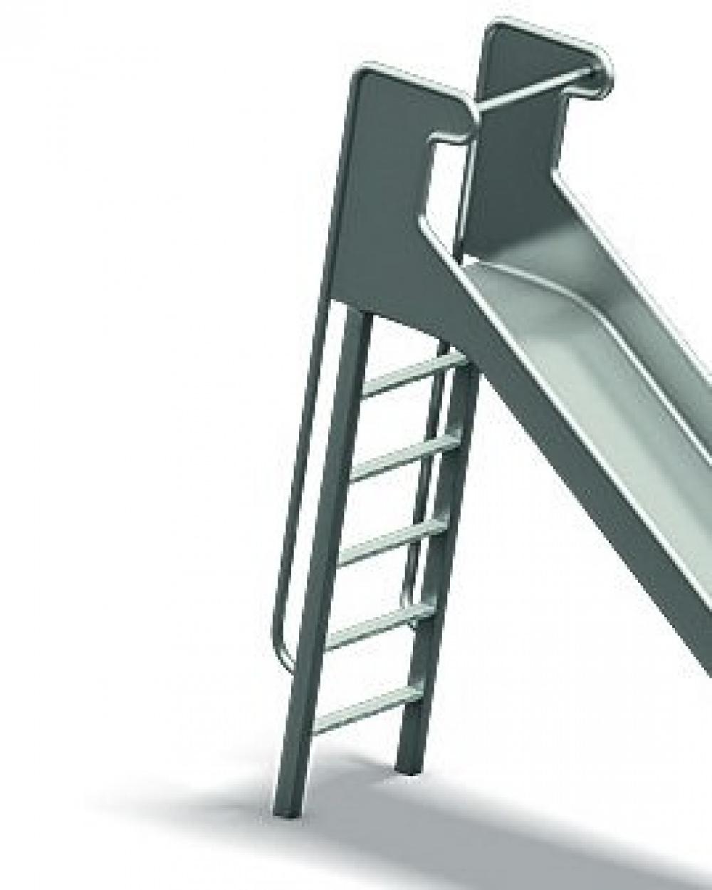 Leiteraufstieg aus Metall, für Neospiel®-Rutschen